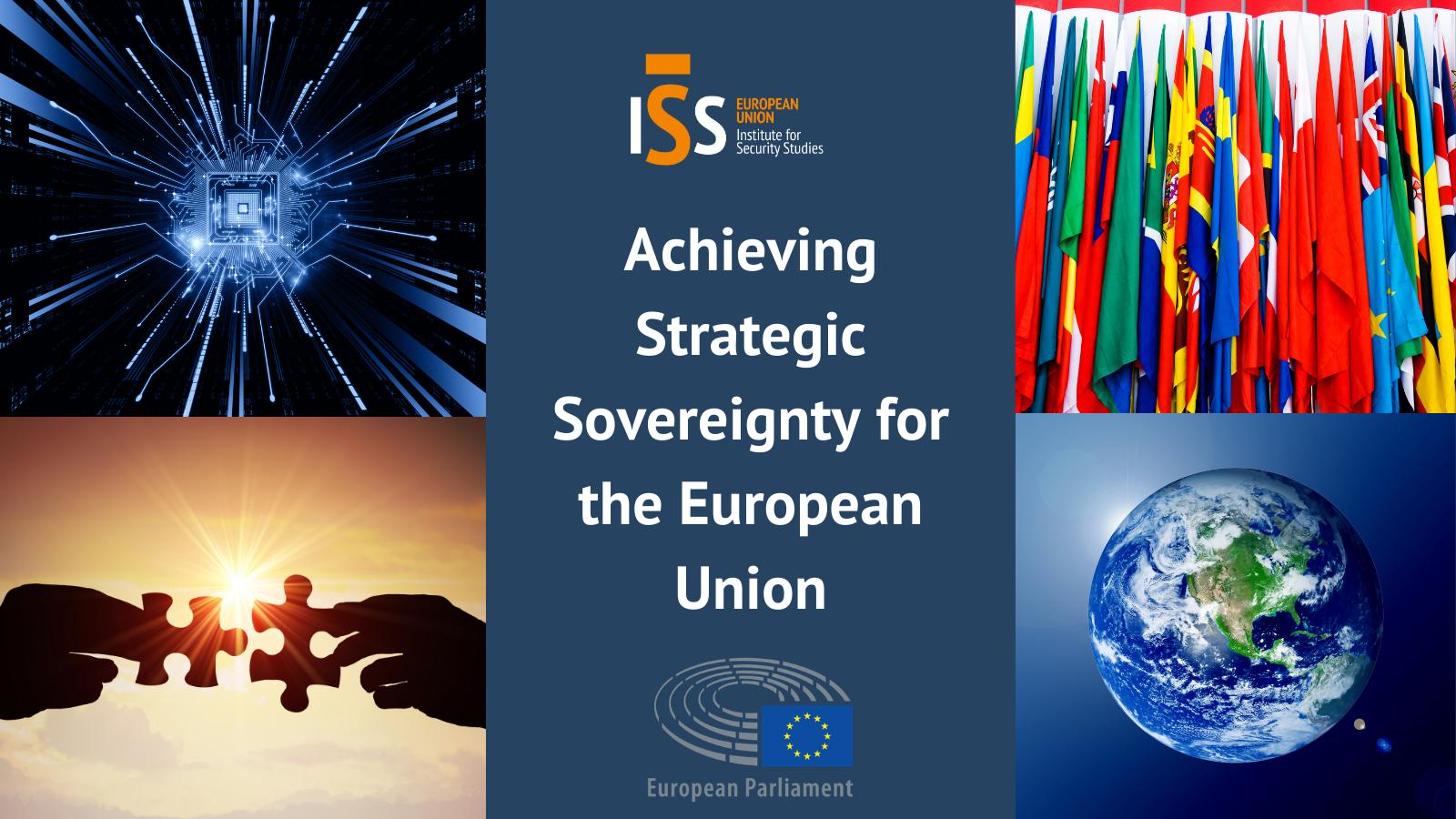 Achieving strategic sovereignty for the European Union
