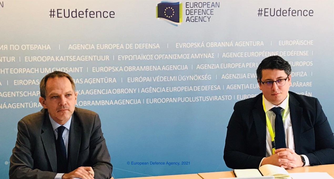 EUISS Analyst Daniel Fiott moderates high-level event on energy and defence