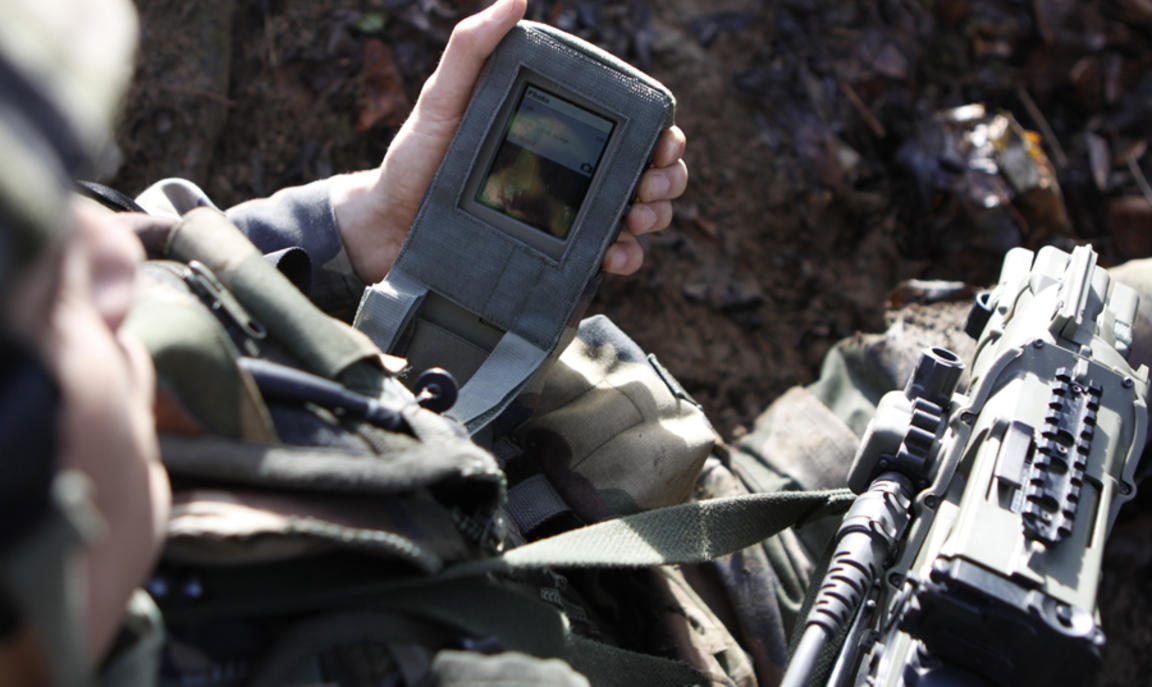 French military GPS