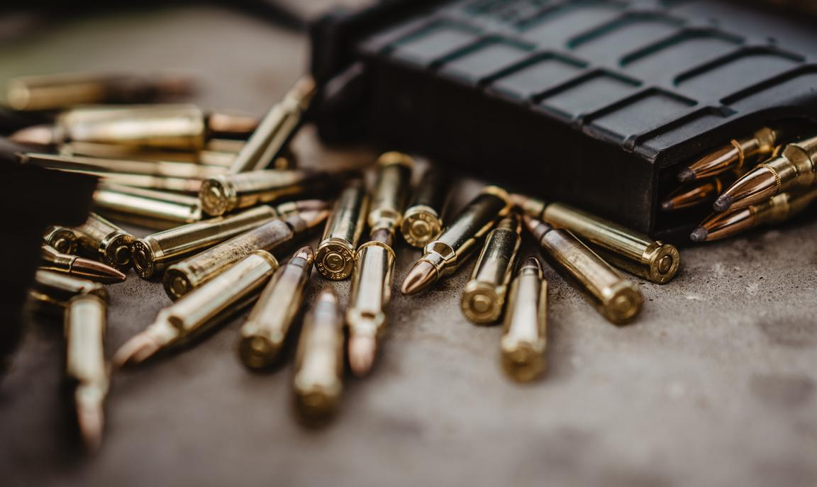 Bullets and magazine
