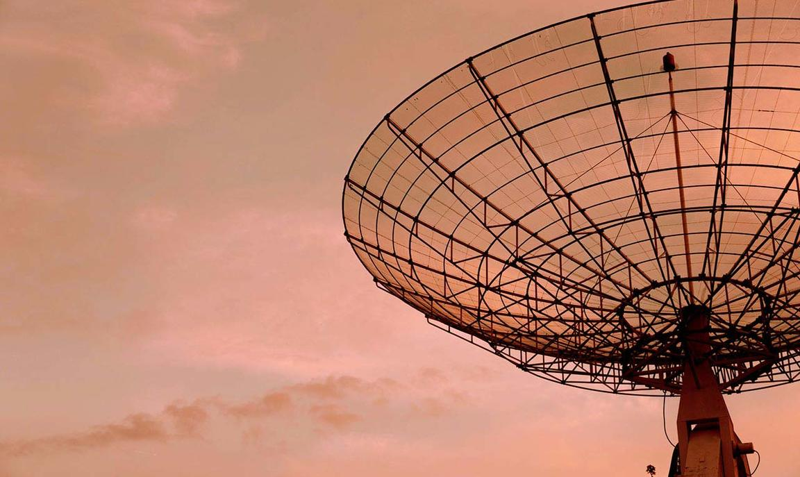Large satellite antenna - credit: Gilles Rolland-Monnet/unsplash