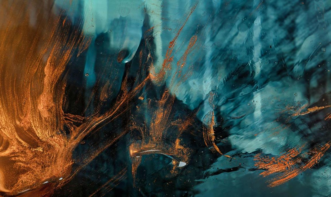 Abstract image of lava