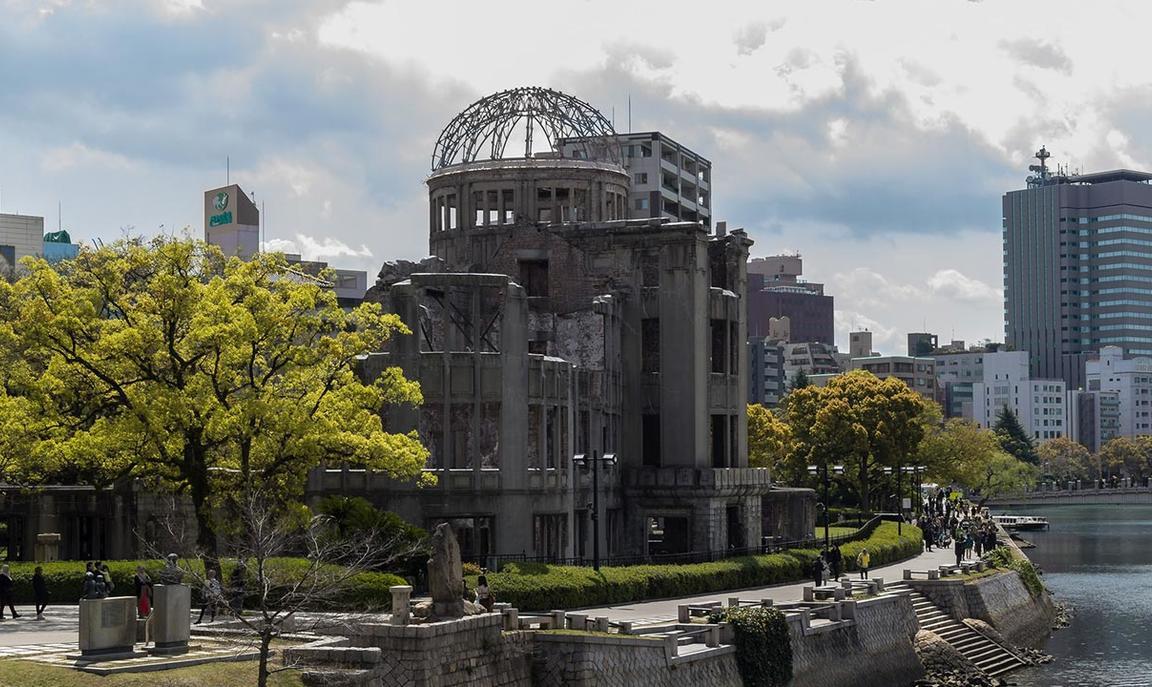 Atomic bomb dome in Hiroshima - Photo credit: Johannes Plenio/Unsplash