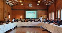 EUISS Director Gustav Lindstrom and Senior Analyst Giovanni Faleg open the panel..
