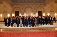 Group photo of participants in Bucharest