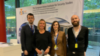 EUISS team and stand with HR/VP Mogherini