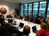 Participants at the EUISS Canada Track 1.5 cyber meeting